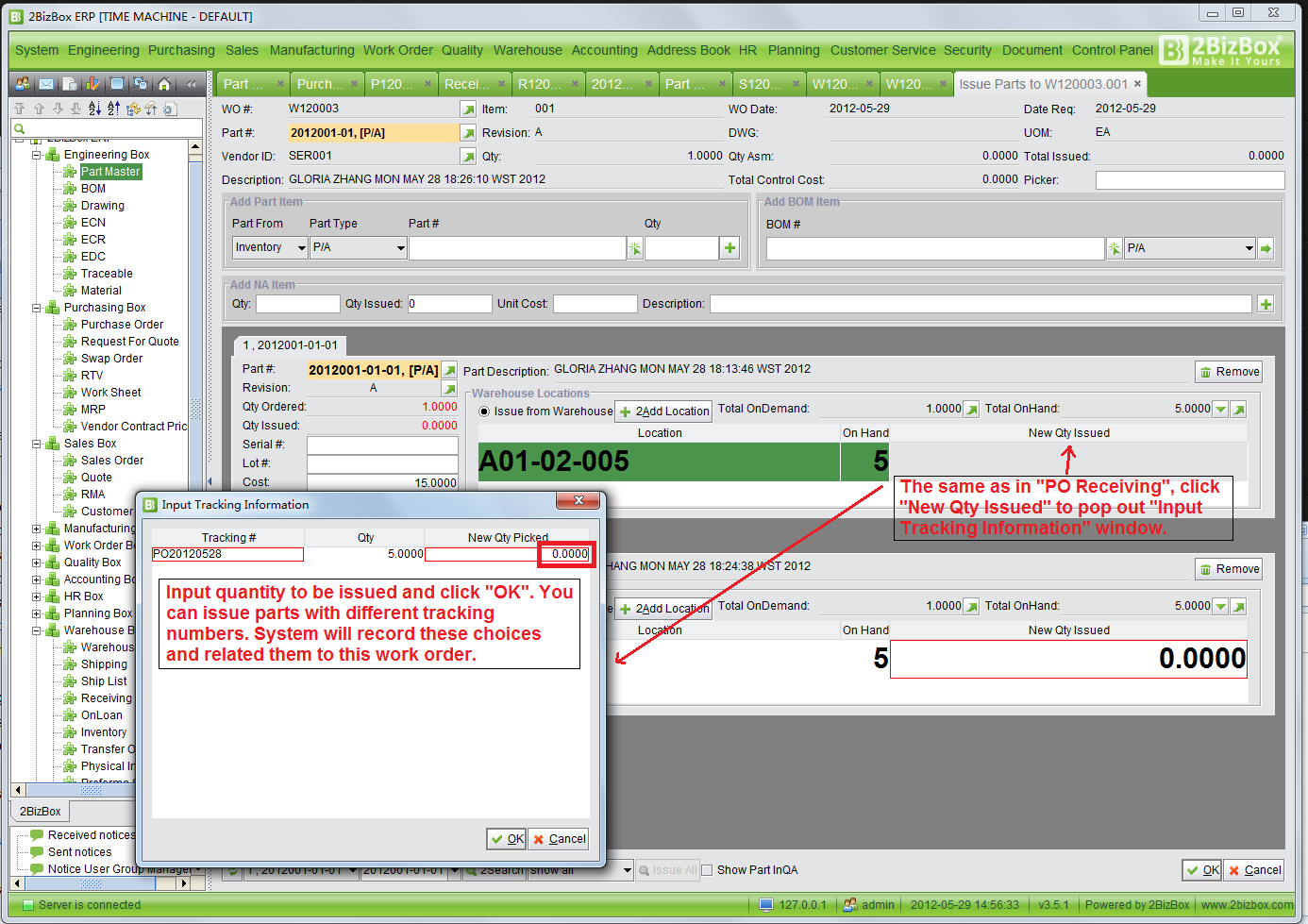 2BizBox FREE ERP: Build Your Own Track and Trace System for ...