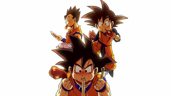 Goku, Gohan and Goten 9f
