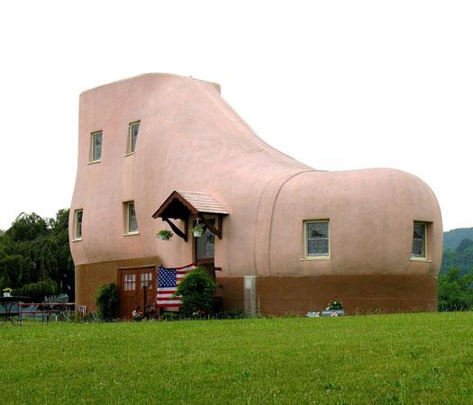 Top 10 des maisons les plus bizarres et originales du for Le monde de la maison