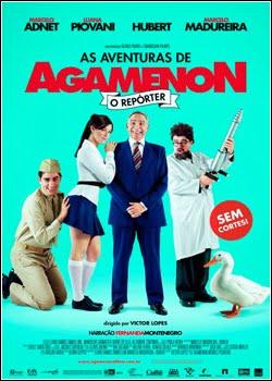 capa As Aventuras De Agamenon, O Repórter  Nacional