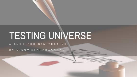 Testing Universe