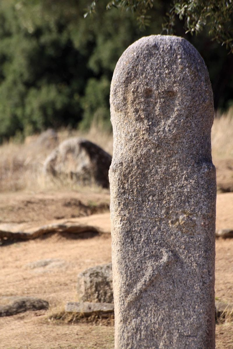 Menhir du site de Filitosa
