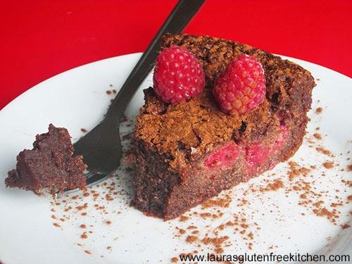 Gluten free Chocolate and Raspberry Cake