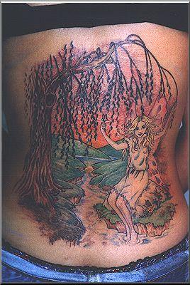 tattoo art skull tattoo tree
