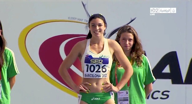 Michelle Jenneke Does A Dance