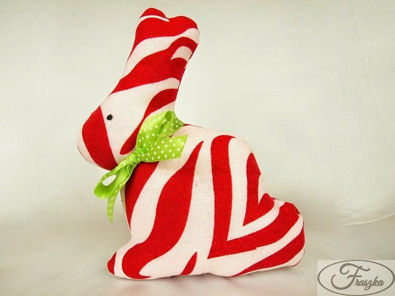 Ręcznie robiony królik