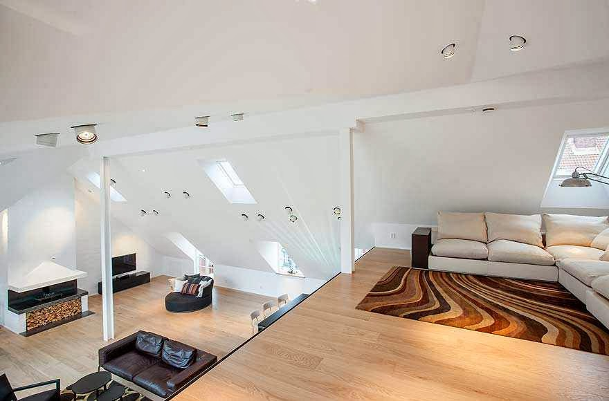 Attic Room Inspiration From A Stockholm Apartment Ayanahouse