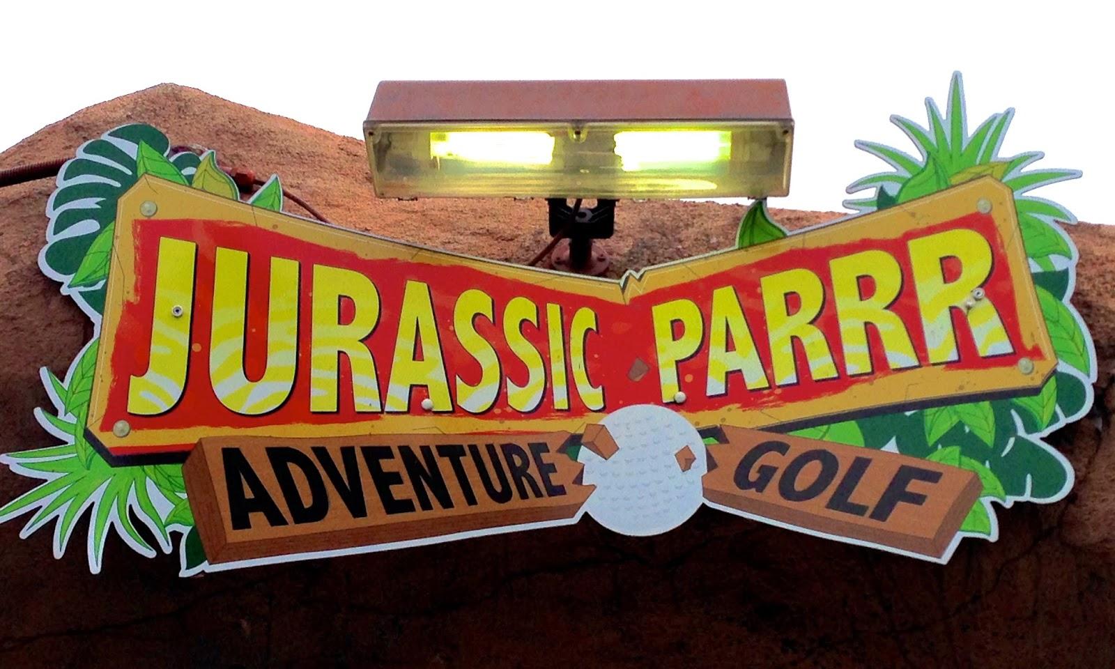 Jurassic Parrr sign