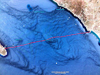 Catalina Relay Challenge map