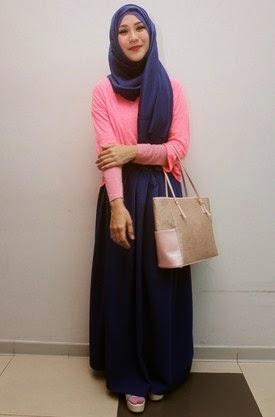 Gaya Hijab Casual Ala Zaskia Mecca Terbaru