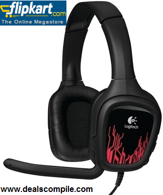 Logitech G130 Wired Gaming Headset @ Rs.999