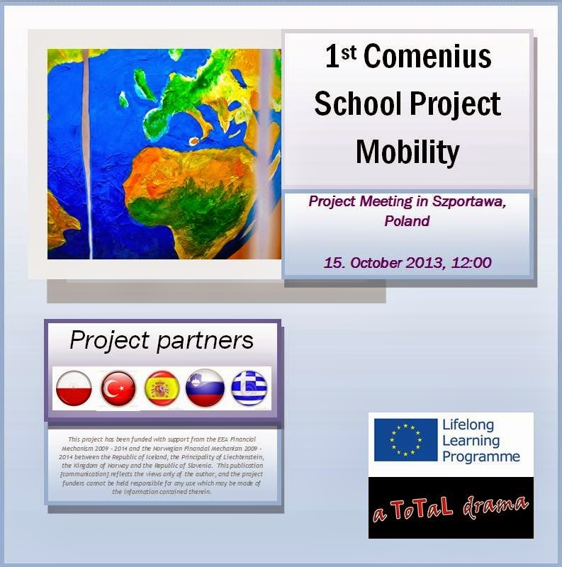 1st COMENIUS SCHOOL PROJECT MOBILITY