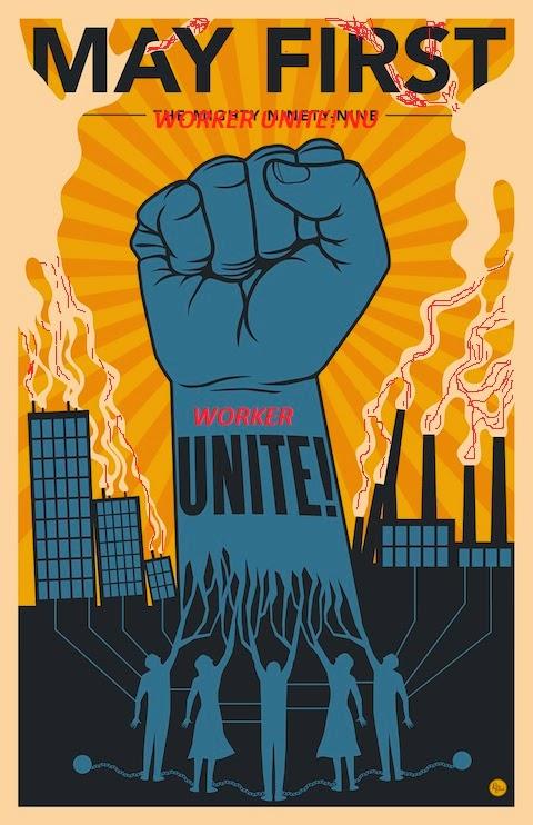 کارگران متحد شویم!