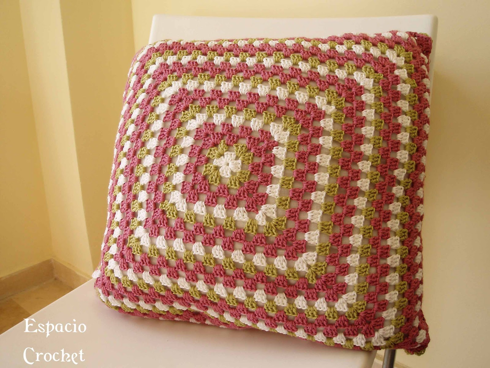 Cojín | Espacio Crochet