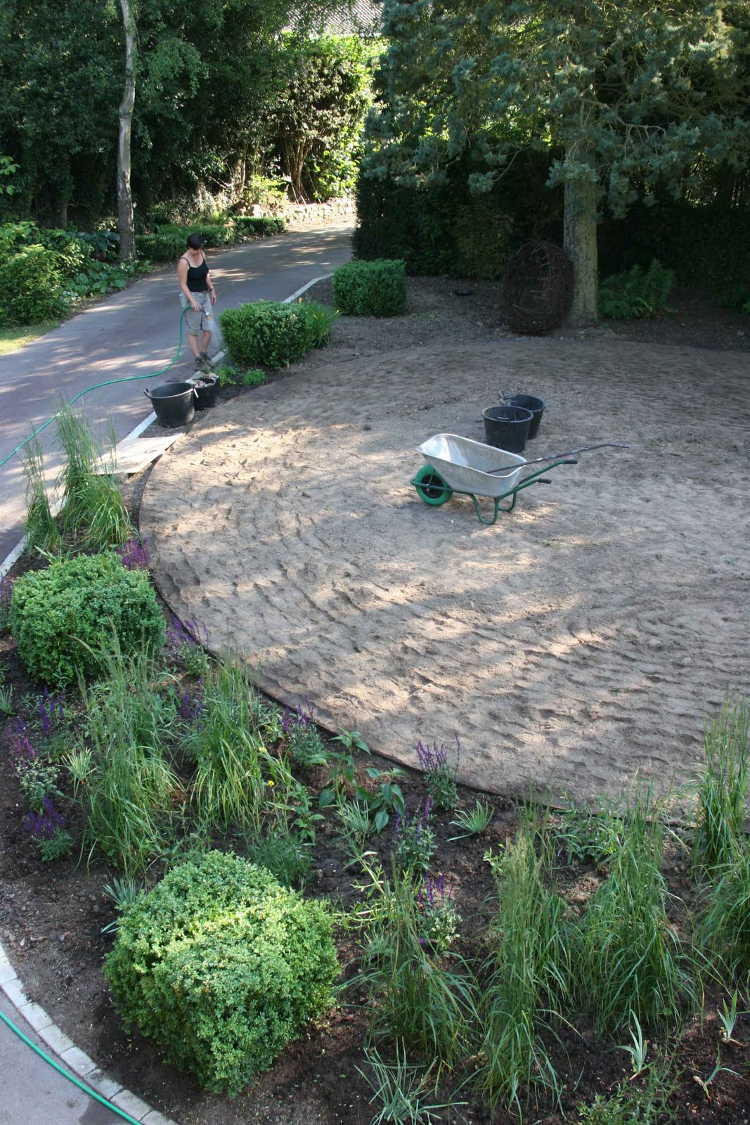 Greencube Garden And Landscape Design UK At Last My Own Garden