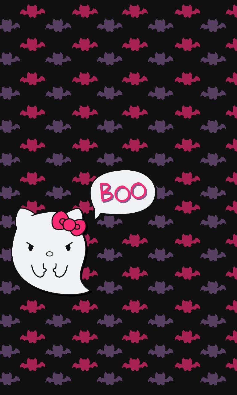 Blueberrythemes hello kitty wallpapers halloween edition - Hello kitty halloween ...