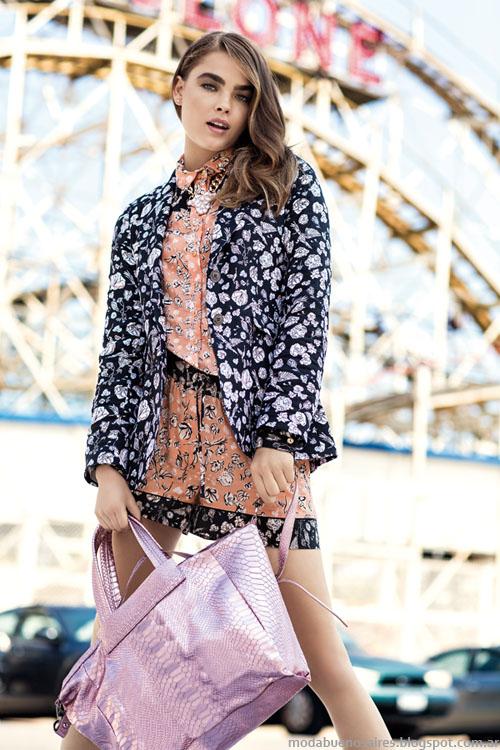 Uma moda primavera verano 2014 trajes de mujer