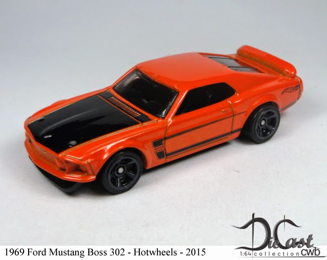 Diecast Cwb 1 64 Collection 1969 Ford Mustang Boss 302