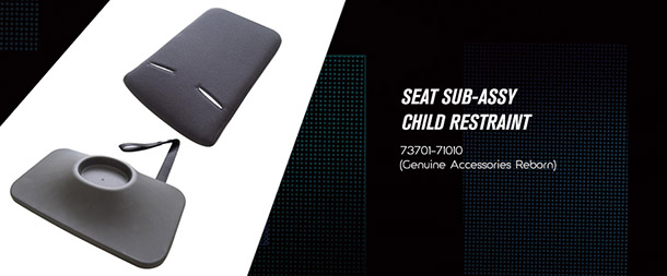 Seat Sub Assy Child Restraint