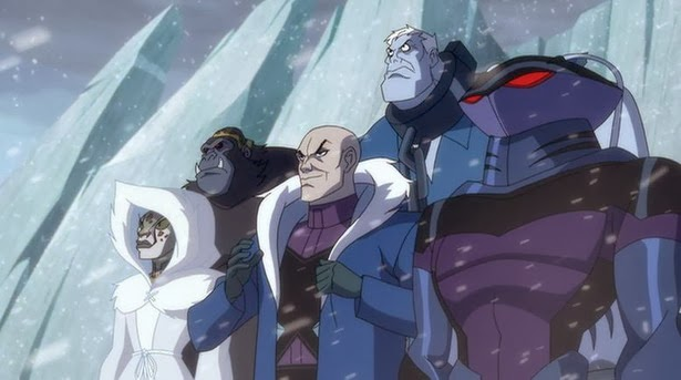 """Legión del Mal en """"JLA Adventures: Trapped in Time"""""""