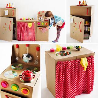 Brinquedos feitos de Material Reciclável