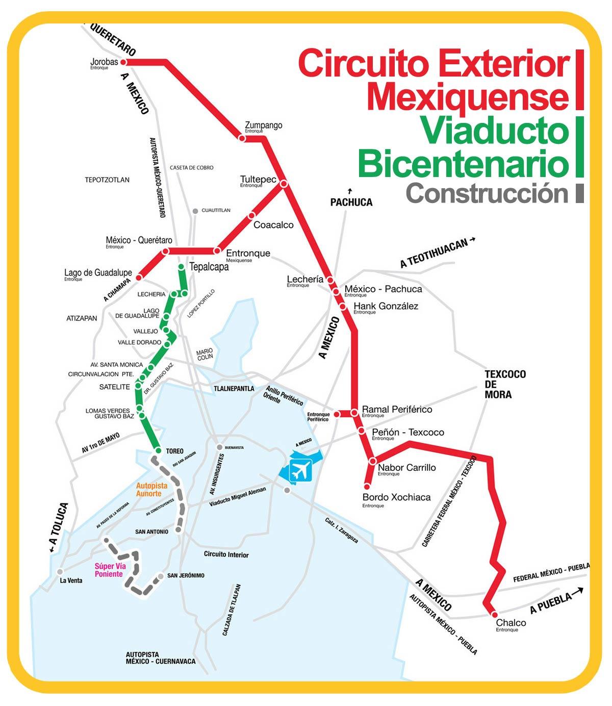 Circuito Los Arcos : Inaugurado el circuito exterior mexiquense mos ingenieros