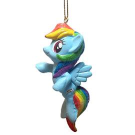 MLP Christmas Ornament Rainbow Dash Figure by Kurt Adler
