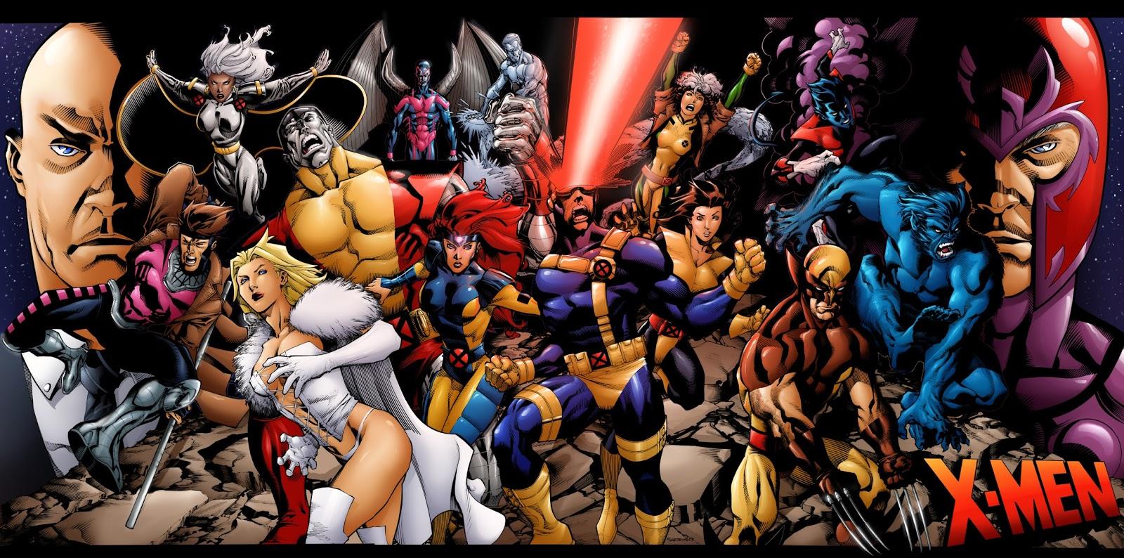 X-men fotos dos personagens 70