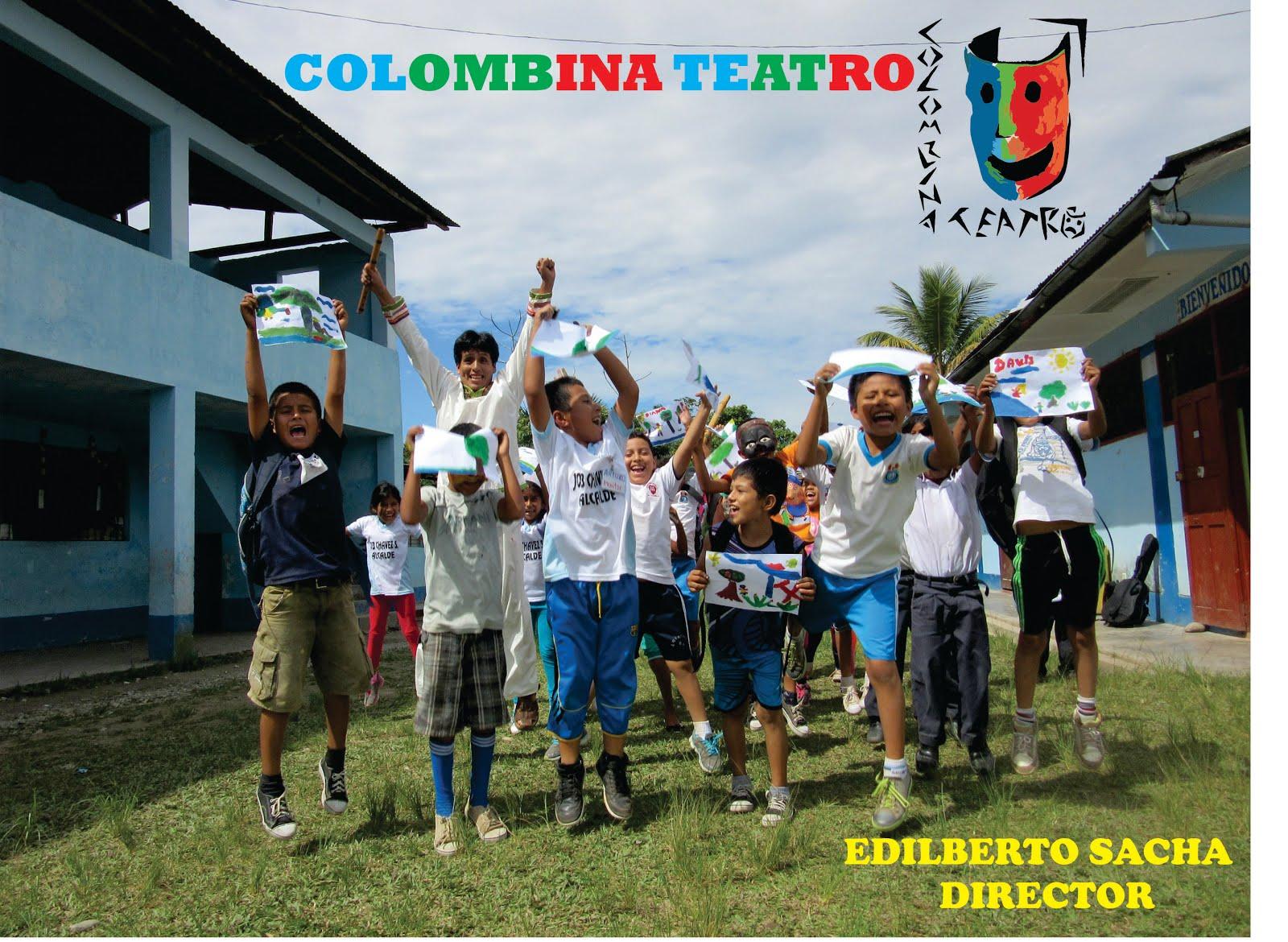 COLOMBINA TEATRO ( Grupo profesional de teatro-Huánuco)