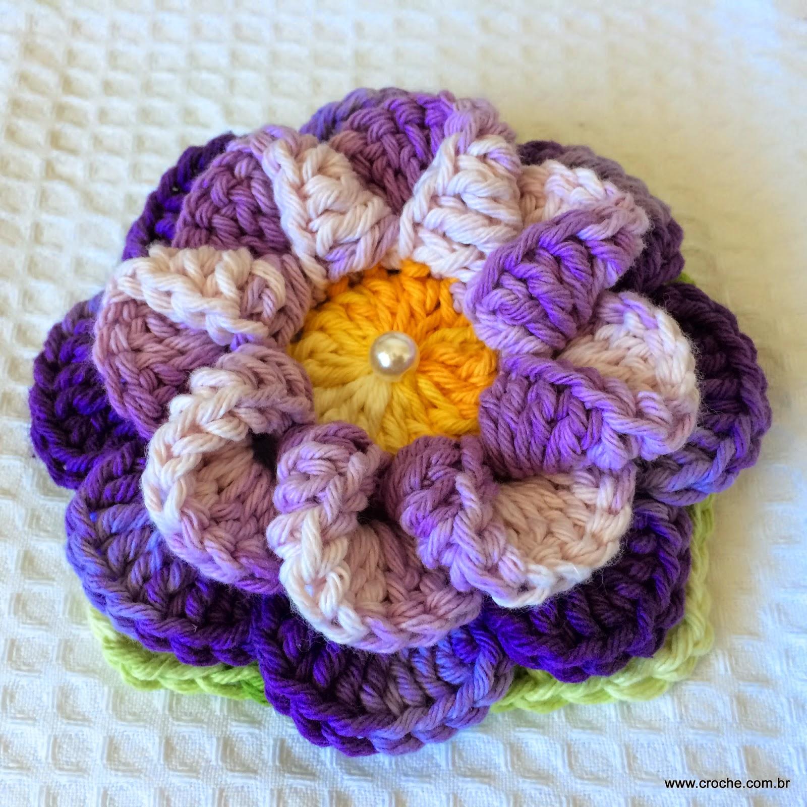 Flor caracol passo a passo for Como criar caracoles de jardin