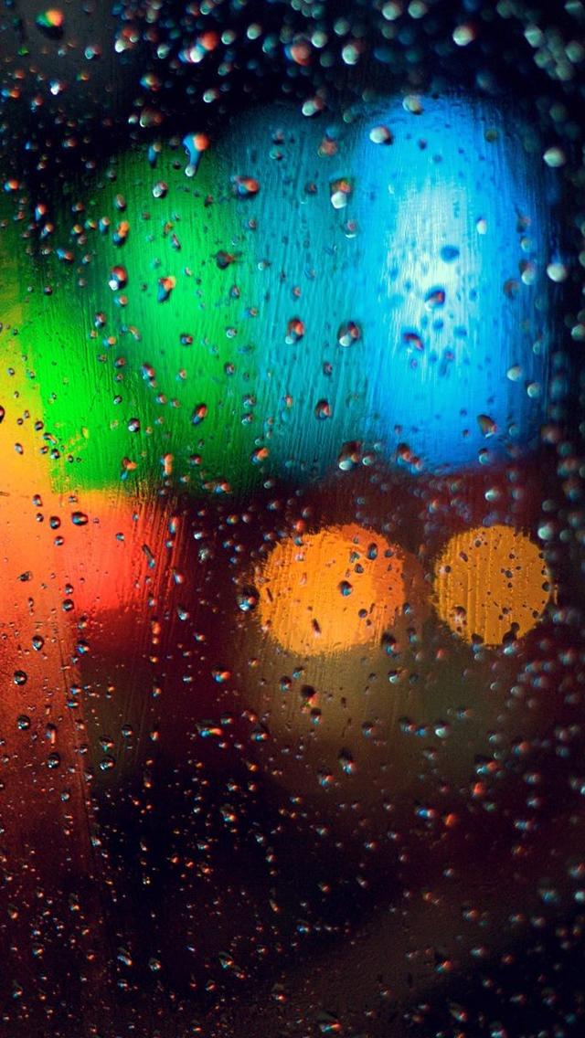 Hd Iphone 5 Rain Wallpapers Hd