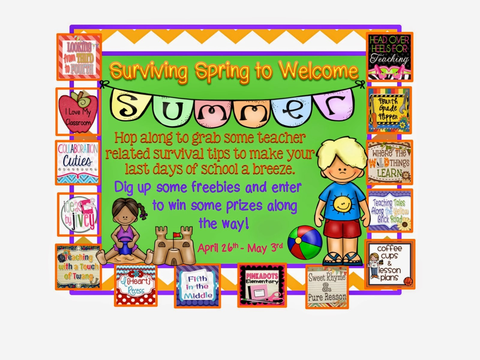 http://pinkadotselementary.blogspot.com/2014/04/spring-to-summer-blog-freebie-hop-tips.html