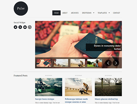 Pulse - Magazine WordPress Theme Free Download by WPZoom.