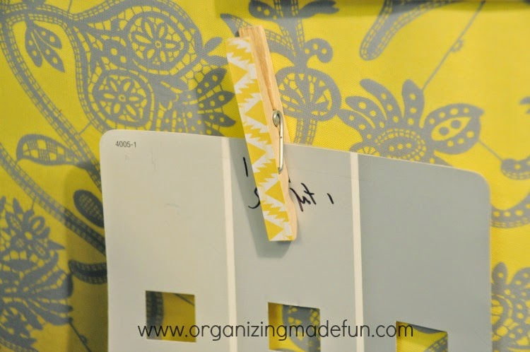 11 Ways to Organize with Magnets - in the office :: OrganizingMadeFun.com