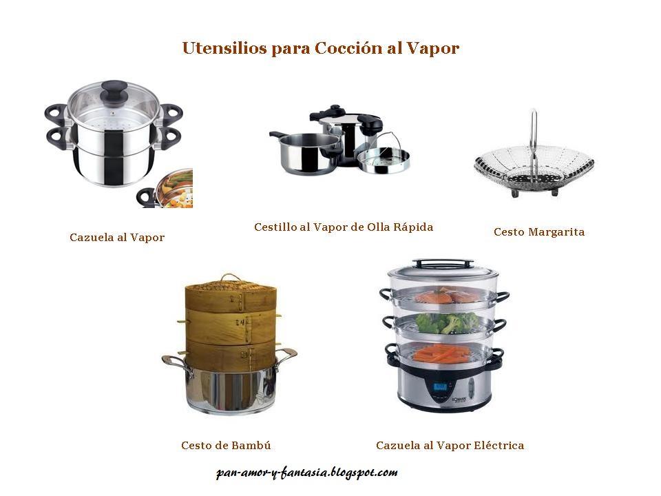 Pan amor y fantas a peras al vapor al aroma de naranja vg sg - Utensilios para cocinar al vapor ...