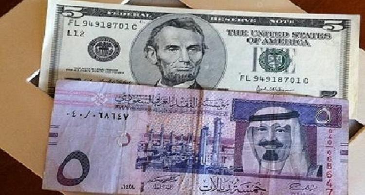 سعر الدولار في السعودية اليوم الثلاثاء 19-1-2016