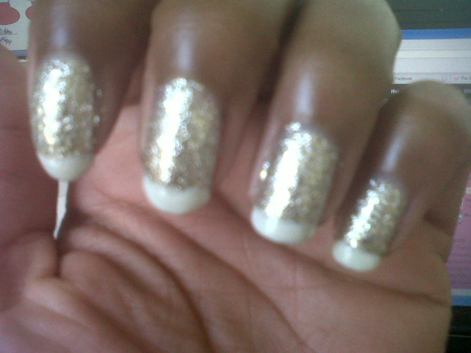 Pearls and Polish: FLY Polish Adjustment: OPI in Spark de Triomphe ...