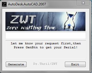 Autocad 2007 crack file