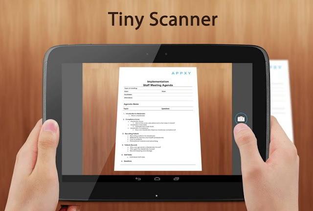 digitalice cualquier tipo documento desde smartphone con tinyscanner