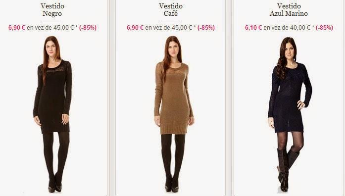 Vestidos baratos de Folia en oferta