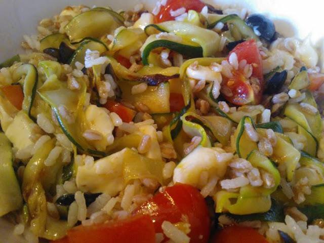 le zucchine tagliate a nastro are very cool