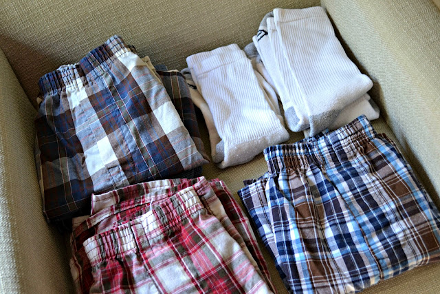 My Husband's plaid boxers and tube socks that really need an upgrade  #MaLoUnderwear