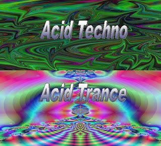 Acid techno zene, acid trance zene
