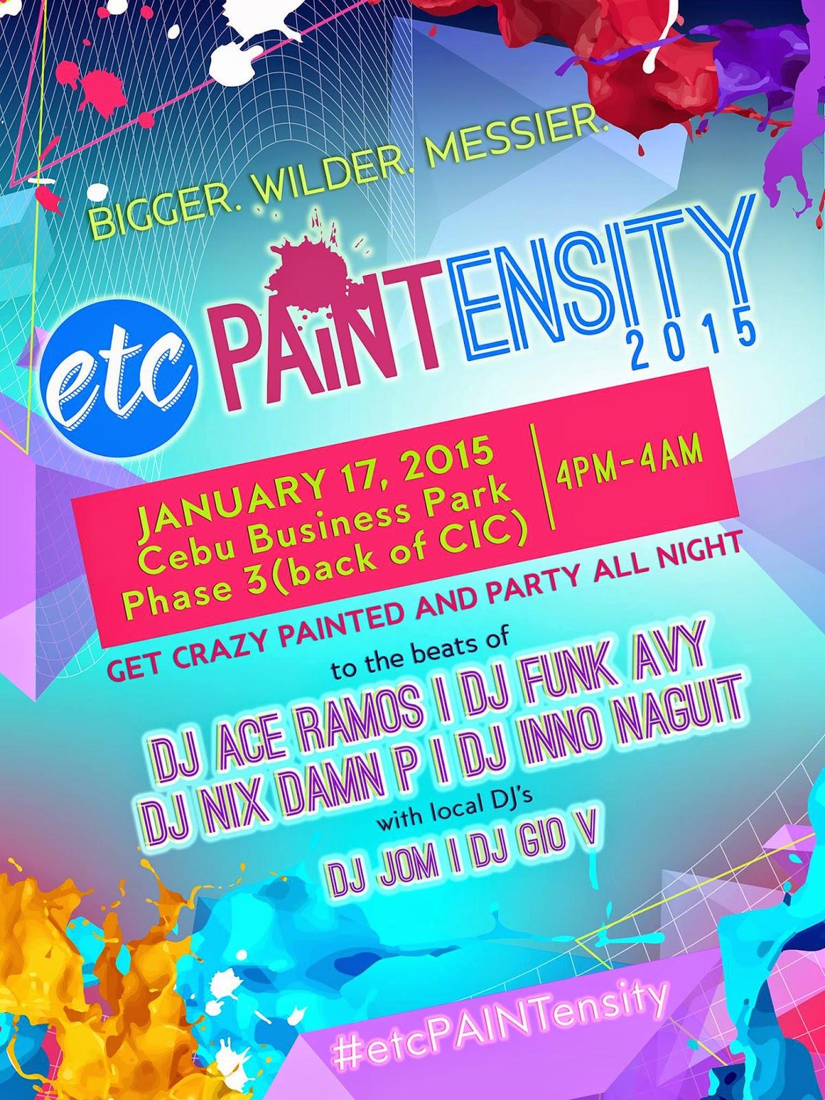 Sinulog-2015-Paintensity-Cebu-Business-Park-Ayala