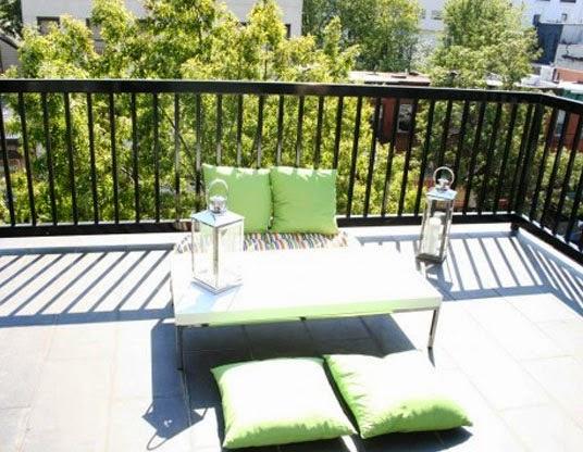 desain balkon apartemen