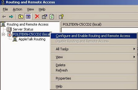 Routing and Remote Access
