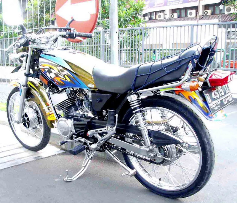 MODIFIKASI│VARIASI YAMAHA RX KING│MODIFIKASI title=