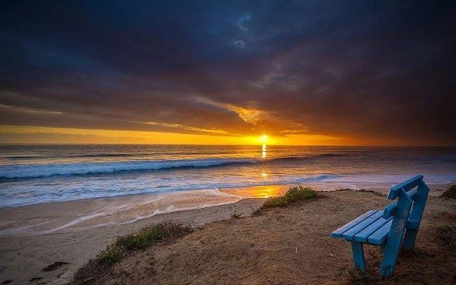 Foto Panorama Sunset yang Mengagumkan-11