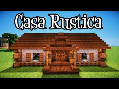 Tuttogames tipi di case per la survival in minecraft for Casa moderna su minecraft