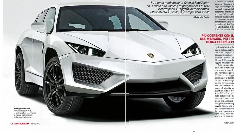 autokavla: Lamborghini LB 736 SUV crossover concept photo